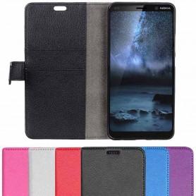 Mobilplånbok 2-kort Nokia 9 PureView (TA-1094) mobilskal fodral skydd caseonline