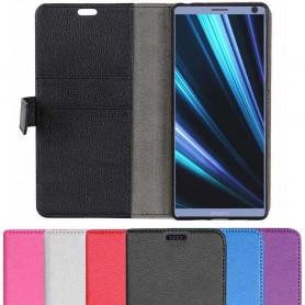 Mobilplånbok 2-kort Sony Xperia 10 (i4113) mobilskal skydd fodral