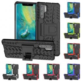 Stöttåligt skal med ställ Huawei P30 Pro mobilskal skydd fodral caseonline