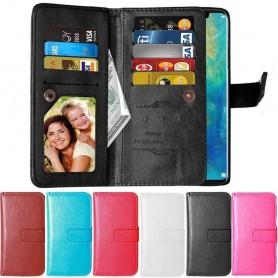 Dubbelflip Flexi 9-kort Huawei P30 Pro mobilplånbok skal skydd väska caseonline
