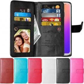 DoubleFlip Wallet Case 9-card Motorola Moto G7 (XT1962)