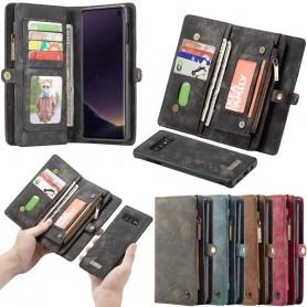 Multiplånbok 11 kort Samsung Galaxy S10E (SM-G970F) mobilskal väska fodral caseme
