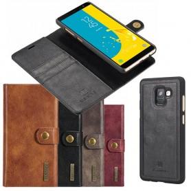 Mobilplånbok Magnetisk DG Ming Samsung Galaxy J6 (SM-J600F) mobilskal väska fodral caseonline