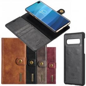 Mobilplånbok Magnetisk DG Ming 2i1 Samsung Galaxy S10 Plus (SM-G975F) mobilskal fodral