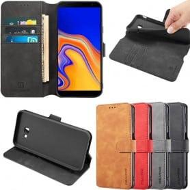 DG-Ming mobilplånbok 3-kort Samsung Galaxy J4 Plus (SM-J415F)
