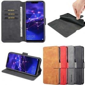 DG-Ming mobilplånbok 3-kort Huawei Mate 20 Lite (SNE-LX1) fodral mobilskal