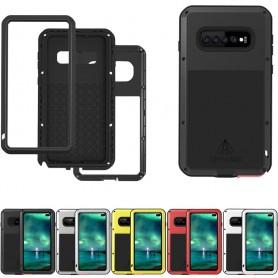 LOVE MEI Powerful Samsung Galaxy S10 Plus (SM-G975F) lifeproof metalskal mobilskal caseonline