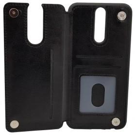 Mobilskal Business 3-kort Huawei Mate 10 Lite (RNE-L21) backcase läder caseonline