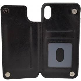 Mobilskal Business 3-kort Apple iPhone X / XS fodral skydd skal