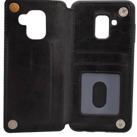 Mobilskal Business 3-kort Samsung Galaxy A8 2018 (SM-A530F) skal fodral skydd backcase