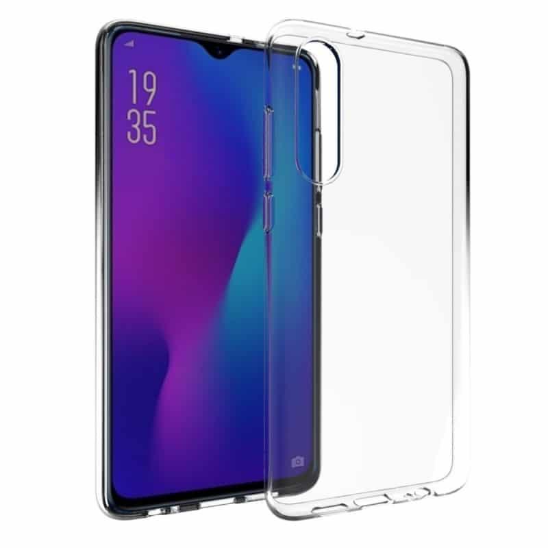 Silikon skal Transparent Huawei P30 Lite (MAR-LX1) mobilskal skydd caseonline