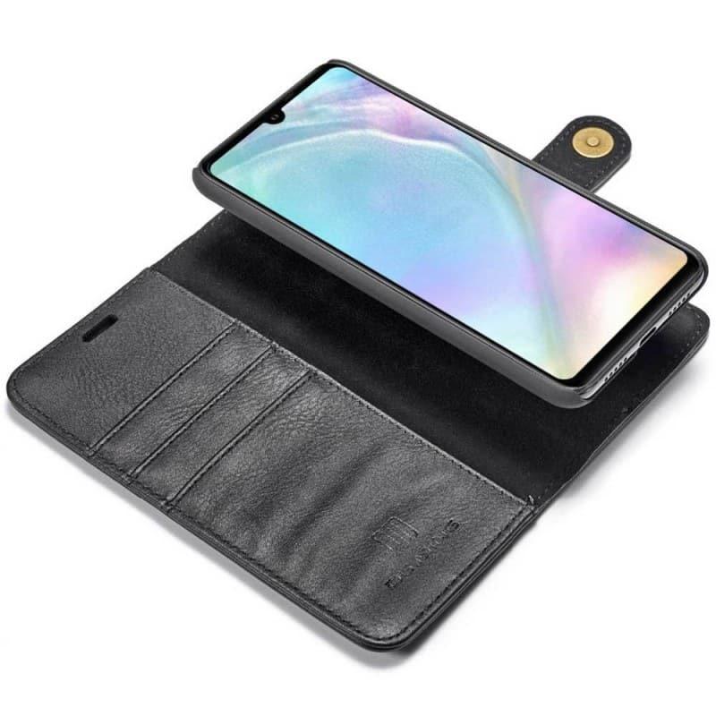 Mobilplånbok 2i1 Magnetisk DG Ming Huawei P30 Lite (MAR-LX1) mobilskal caseonline