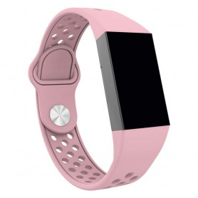 Fitbit Charge 3 EBN Sport Armband - Rosa