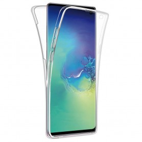 360 heltäckande silikon skal Samsung Galaxy S10 (SM-G970F) mobilskal skydd