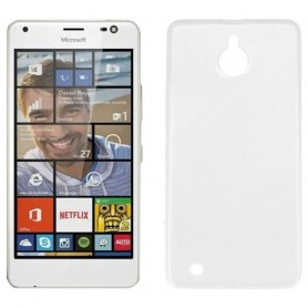 Clear Hard Case Microsoft Lumia 850