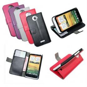 Mobilplånbok 2-kort HTC ONE X (S720e)