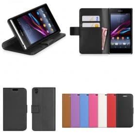 Sony Xperia Z2 mobilplånbok fodral väska mobilskal