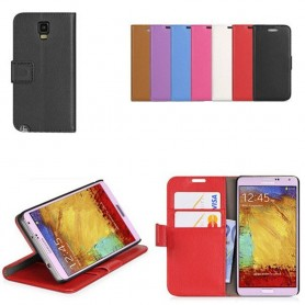 Samsung Galaxy Note 3 Neo mobilplånbok 2-kort mobilskal fodral väska