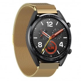 Milanese RSF stål Huawei Watch GT/Magic/TicWatch Pro - Guld
