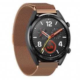 Milanese RSF stål Huawei Watch GT/Magic/TicWatch Pro - Koppar