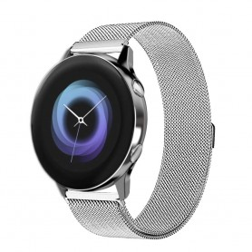 Milanese RSF stål Armband Samsung Galaxy Watch Active-Silver