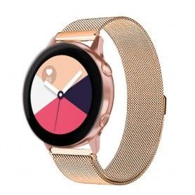 Milanese RSF stål Armband Samsung Galaxy Watch Active-Guld