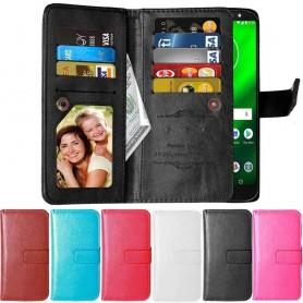 Dubbelflip Flexi 9-kort Motorola Moto G6 Plus (XT1926)