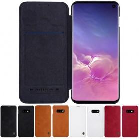 Nillkin Qin FlipCover Samsung Galaxy S10E (SM-G970F) väska fodral skal caseonline