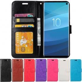 Mobilplånbok 3-kort Samsung Galaxy S10E (SM-G970F) mobilskal fodral caseonline