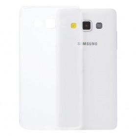 Galaxy A7 silikon skal transparent