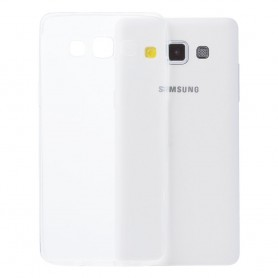 Galaxy A5 silikon skal transparent