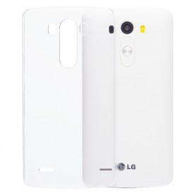 LG G3 Mini silikon skal transparent