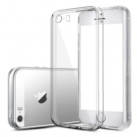 Apple iPhone 5, 5S silikon skal transparent