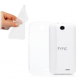 HTC Desire 310 Silikon Transparent