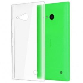 Nokia Lumia 730 / 735 silikon skal transparent