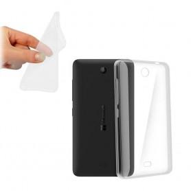 Galaxy S5 Mini silicone case transparent