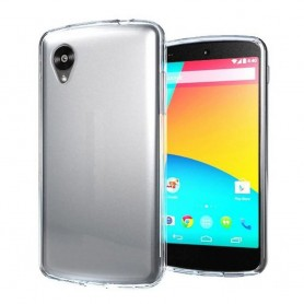 LG Nexus 5 silikon skal transparent