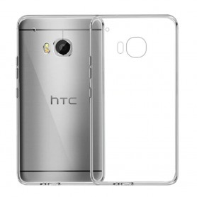 HTC One Mini M8 silikon skal transparent