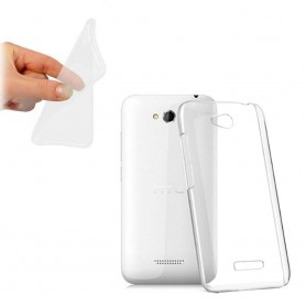 HTC Desire 616 silikon skal transparent