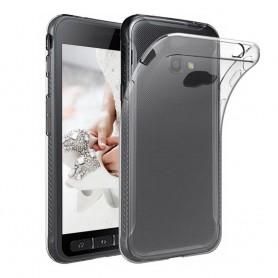 Samsung Galaxy Xcover 4 SM-G390F tunt silikon skal transparent