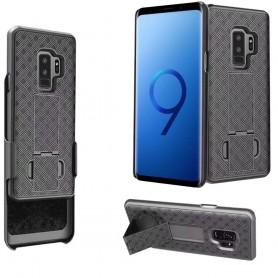 Stötsäkert mobilskal med hölster Samsung Galaxy S9 Plus
