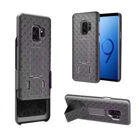 Stötsäkert skal med hölster 3i1 Samsung Galaxy S9 mobilskal