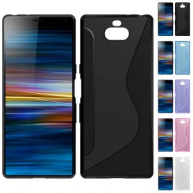 S Line silikon skal Sony Xperia 10 (I4213) mobilskal