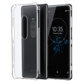 Shockproof silikon skal Sony Xperia 1 mobilskal skydd stöttåligt caseonline