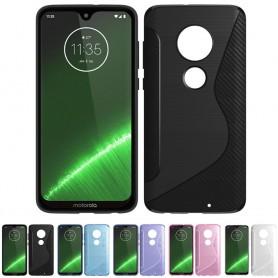 S Line silikon skal Motorola Moto G7 Plus (XT1965) mobilskal