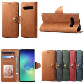 Mobilplånbok 3-kort Samsung Galaxy S10 Plus (SM-G975F)