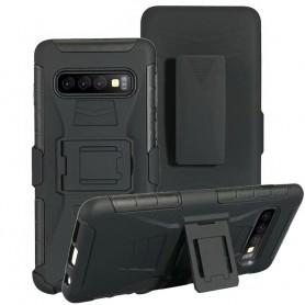 Stötsäkert skal med hölster 3i1 Samsung Galaxy S10 Plus (SM-G970F)
