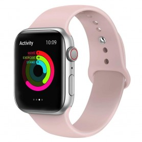 Apple Watch 4 (40mm) Sport Armband - Rosa Sand