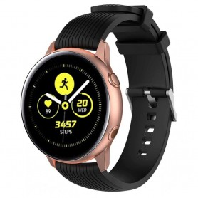 Sport Armband RIB Samsung Galaxy Watch Active - Svart