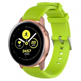 Sport Armband RIB Samsung Galaxy Watch Active - Lime
